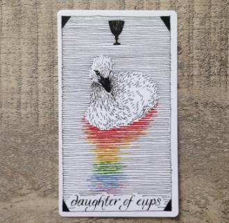El Salvaje desconocido - Tarot - Copas Hija_d11
