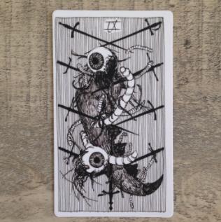 El Salvaje desconocido - Tarot - Espadas Nueve_12