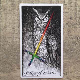El Salvaje desconocido - Tarot - Espadas Padre_12