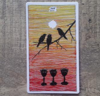 El Salvaje desconocido - Tarot - Copas Tres_d11