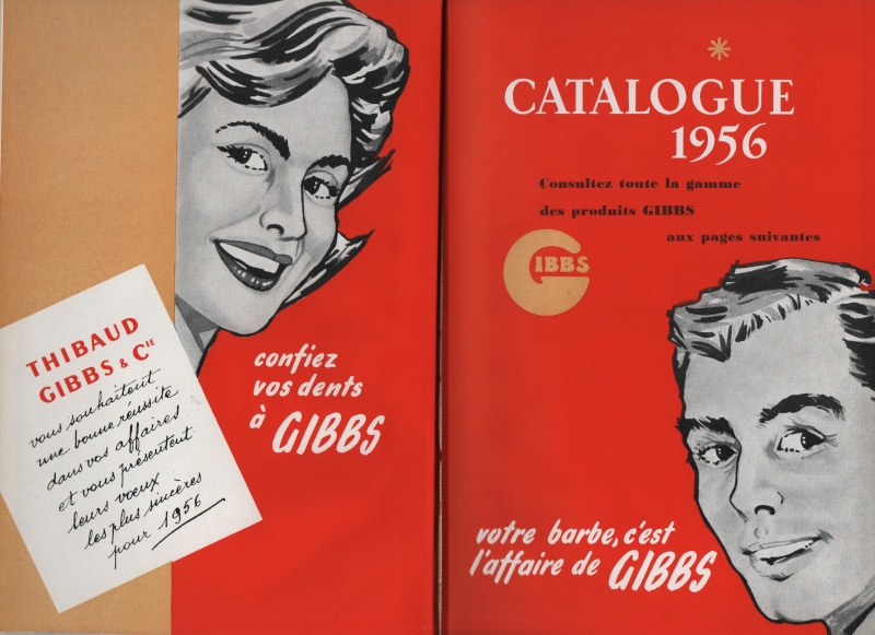 Lames de rasoir GIBBS et produits de la marque Catalo10