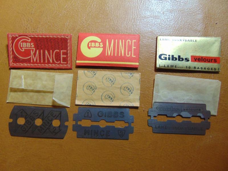 Lames de rasoir GIBBS et produits de la marque Dsc03113