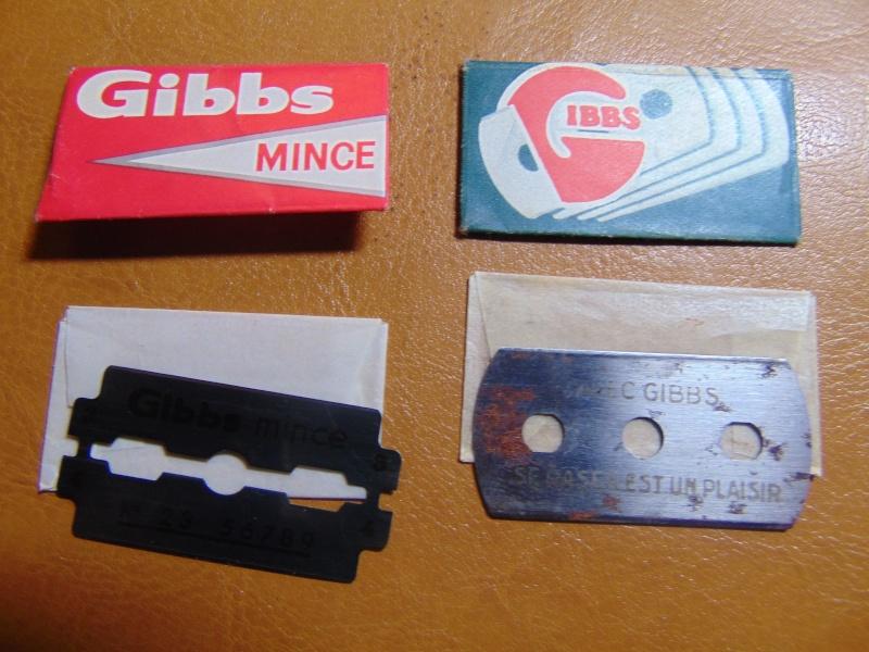 Lames de rasoir GIBBS et produits de la marque Dsc03114