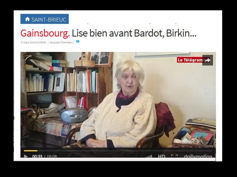 Gainsbourg. Lise bien avant Bardot, Birkin... Sans_145