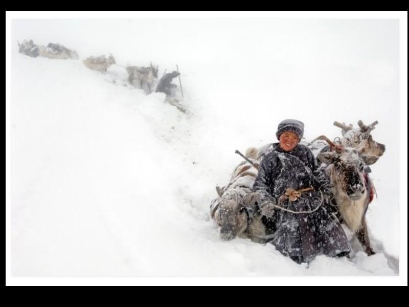 Un photographe a pris d'incroyables clichés d'une tribu mongole au mode de vie unique  Sans_273