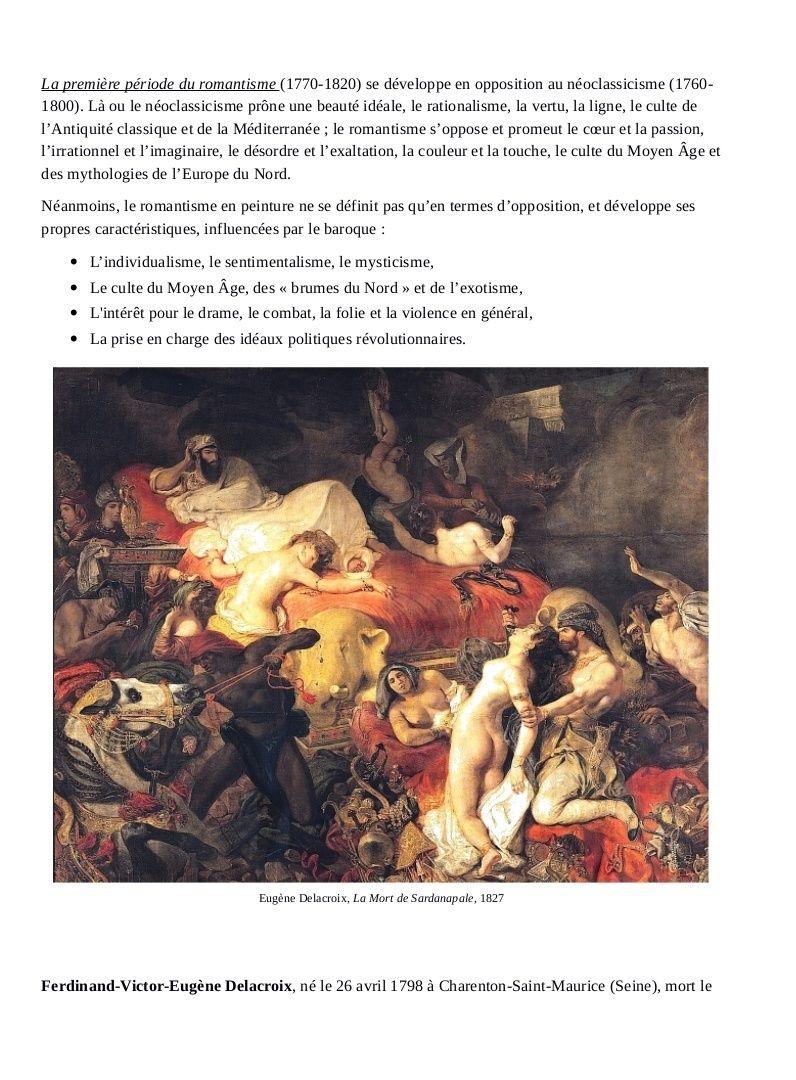 L'ART PICTURAL DANS L'HISTOIRE DE L'HUMANITÉ Exempl12