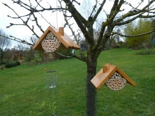 Comment fabriquer des hotels pour insectes et amis du jardinier Image30