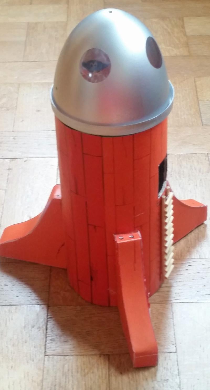 fusée - Fusée Cosmoschtroumpf dans les airs 20160313