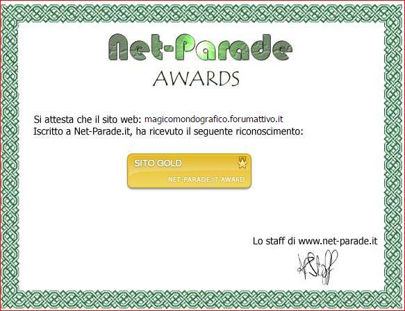 6° Attestato  Award10
