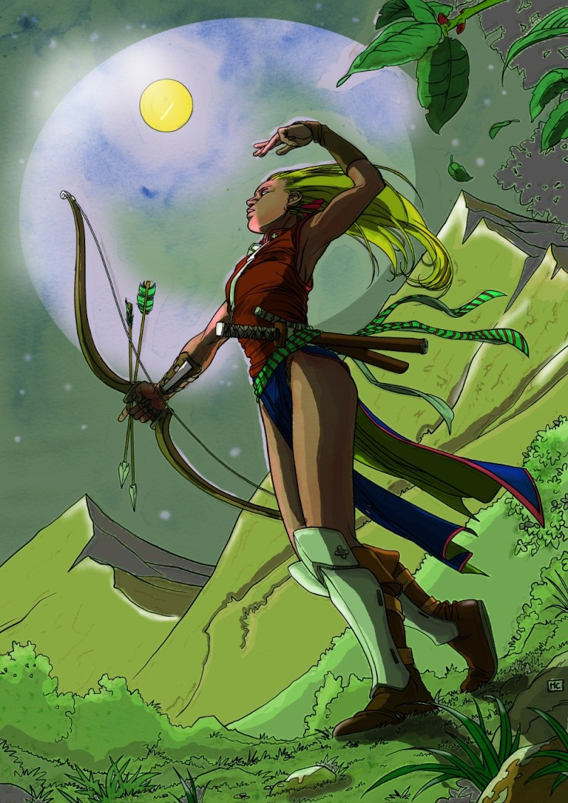 TERMINE- [COLO]  Une archère - MC Mcarch11