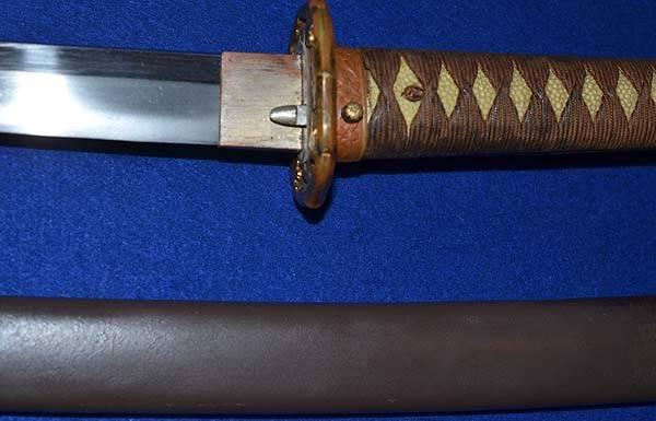 sabre japonais - authentif 1b10