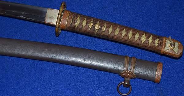 sabre japonais - authentif 1c10