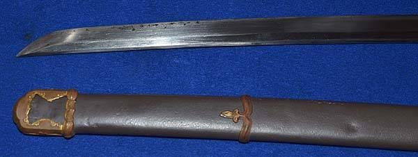 sabre japonais - authentif 1d10