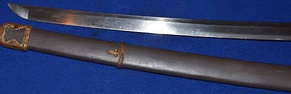 sabre japonais - authentif 1e10
