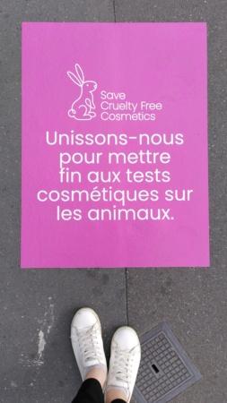 Expérimentation animale dans les cosmétiques : une initiative citoyenne soutenue par PETA Campag11