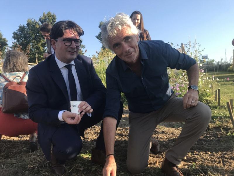 Lyon Métropole :  la commune de Charly inaugure un centre de recherche sur l'alimentation Charly10
