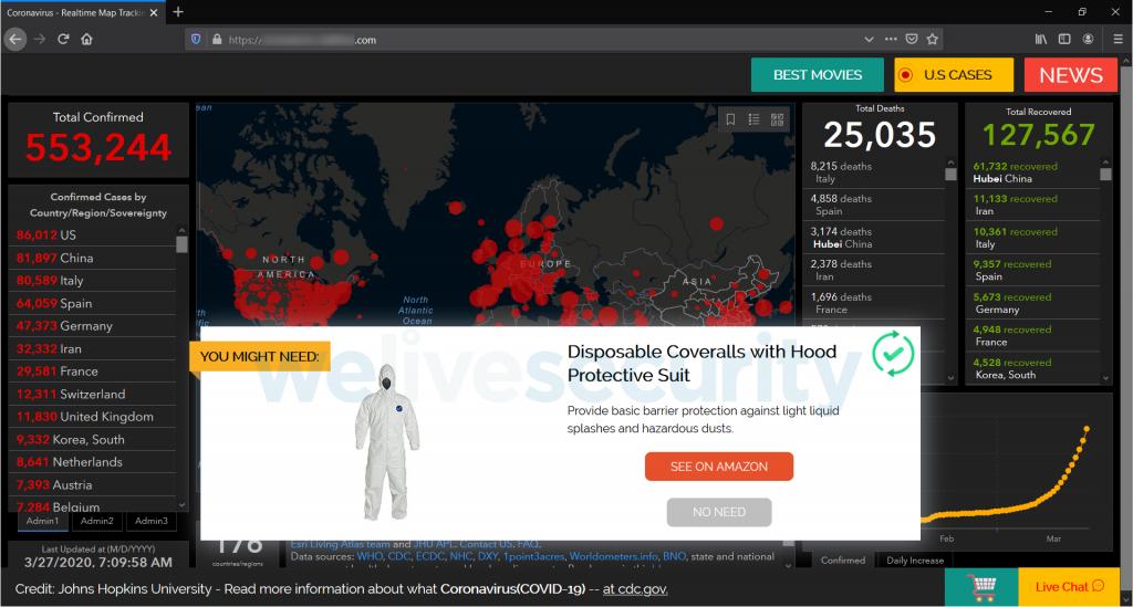 #Covid19 : les escroqueries sur internet se multiplient Escroq12