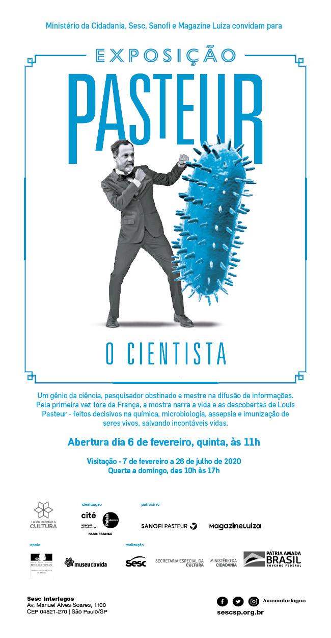 L'exposition Pasteur, l'expérimentateur, conçue par Universcience, présentée au Brésil Exposi10
