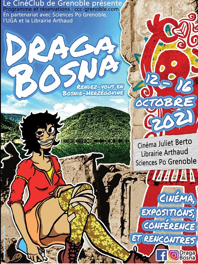 """Cinéma : un festival """"Parfums de Bosnie Herzégovine"""" à Grenoble Festiv10"""