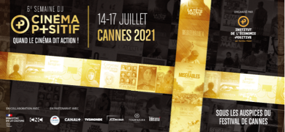 """Le film """"Haut et Fort"""" reçoit le prix du cinéma positif au Festival de Cannes Festiv10"""