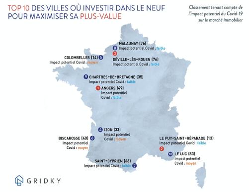 Immobilier et Covid_19 : la carte des villes où investir après la crise Immobi10