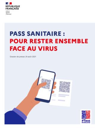 """Pass sanitaire : le guide officiel """"pour rester ensemble face au virus"""" Lyftvn14"""