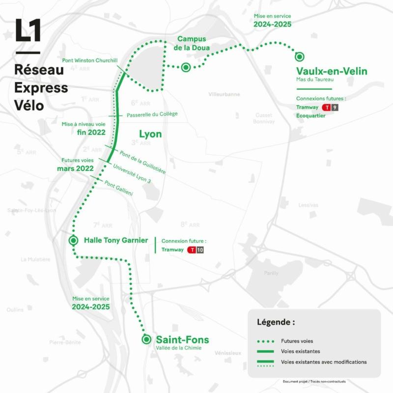 """Mobilités : avec les """"Voies lyonnaises"""", Lyon Métropole vend du REV ! Lyon_r10"""