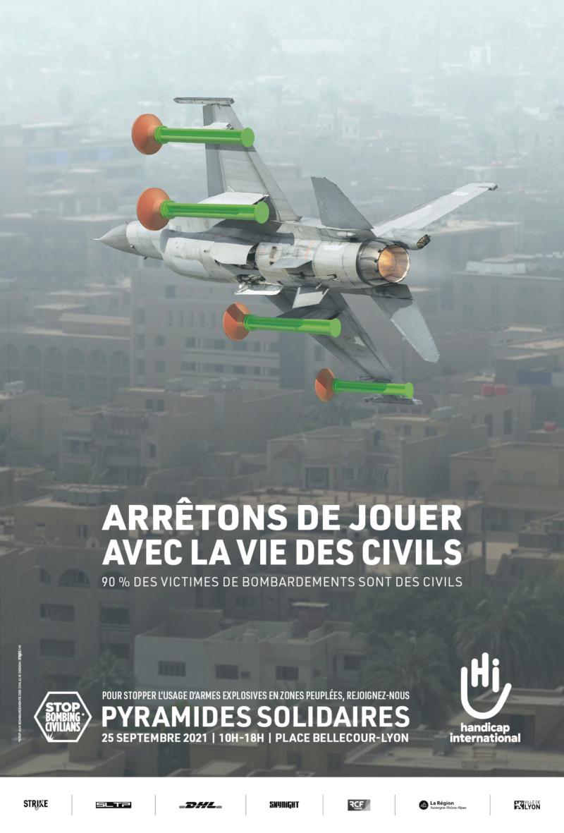 """Place Bellecour à Lyon : une expo """"coup de poing"""" de Handicap International Ventes11"""
