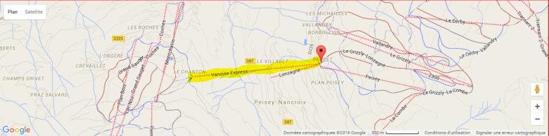 Téléphérique bicâbles Vanoise express  Plant10