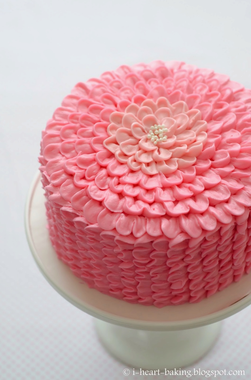 Martha Stewart's Ombre Strawberry Cake Cake13