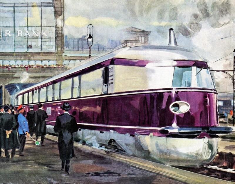 Locomotives et trains vintages - Page 3 12525510