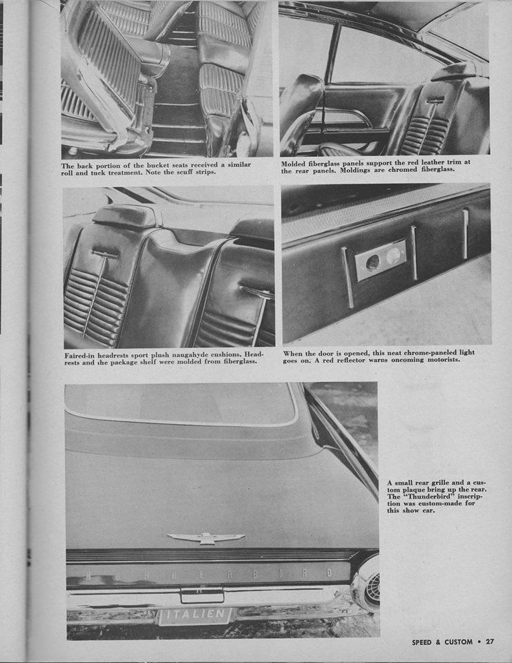 Ford Thunderbird 1961 - 1963 custom & mild custom - Page 4 12802810