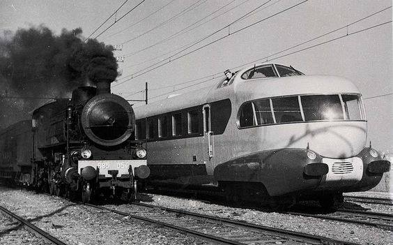 Locomotives et trains vintages - Page 3 12802811