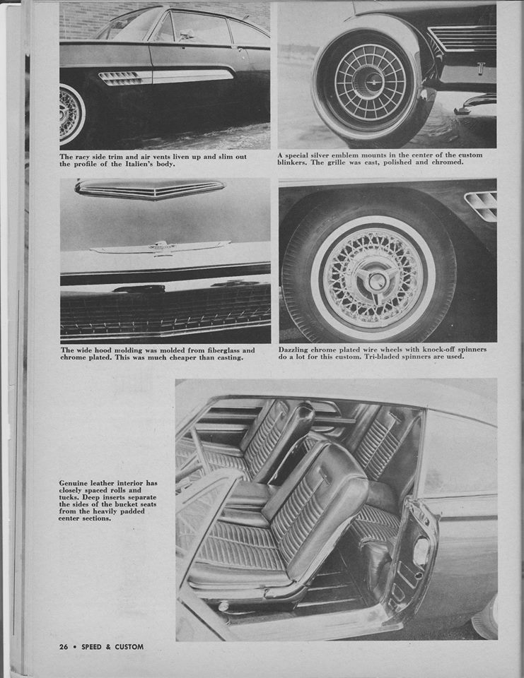 Ford Thunderbird 1961 - 1963 custom & mild custom - Page 4 12809610