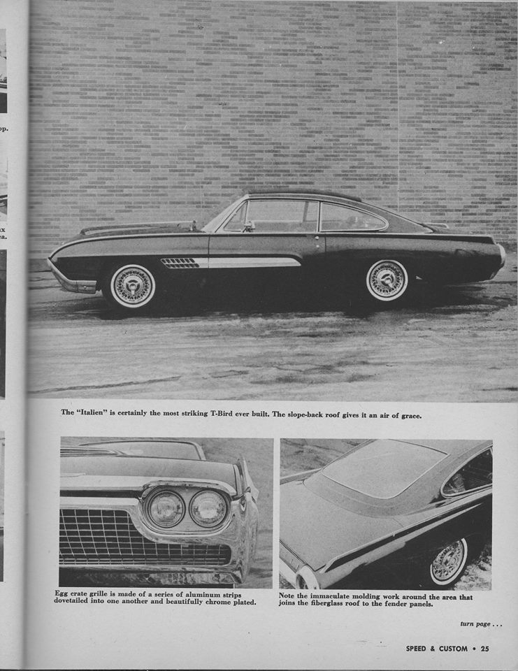 Ford Thunderbird 1961 - 1963 custom & mild custom - Page 4 12814411