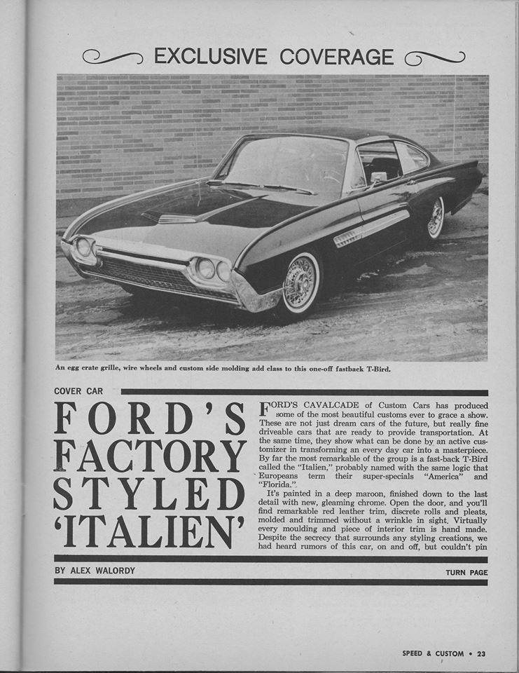 Ford Thunderbird 1961 - 1963 custom & mild custom - Page 4 12814710