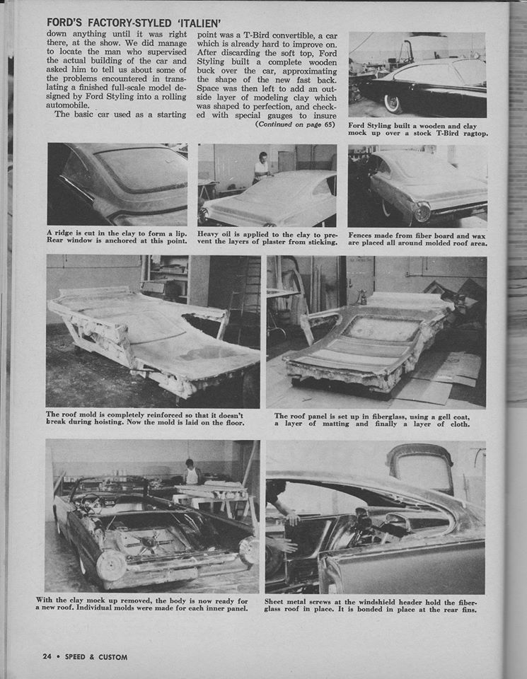 Ford Thunderbird 1961 - 1963 custom & mild custom - Page 4 12823210