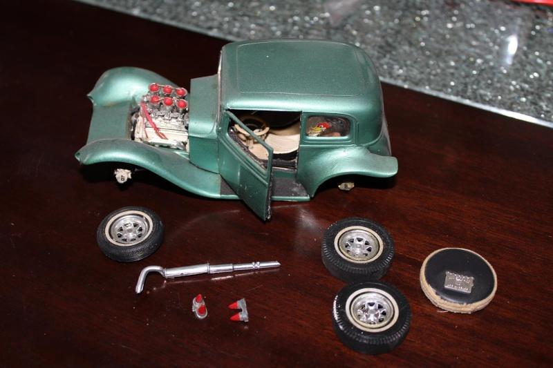 Vintage built automobile model kit survivor - Hot rod et Custom car maquettes montées anciennes - Page 4 12828311