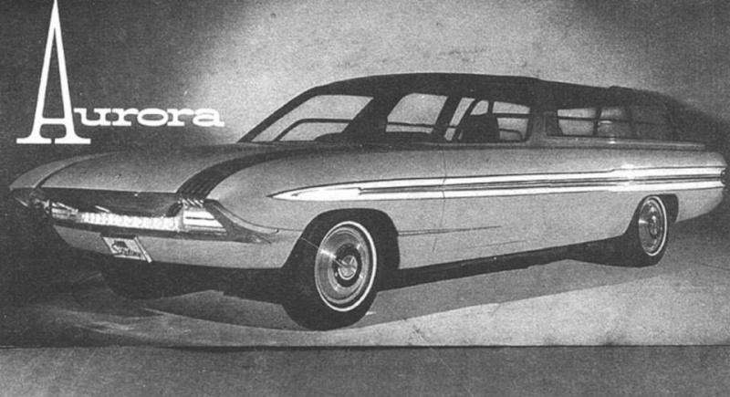 1964 Ford Aurora - Concept car 12832310