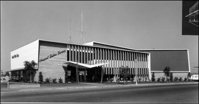 Architectures de banques et bureaux vintages - 1950's & 1960's Office & Bank  Arch9b10
