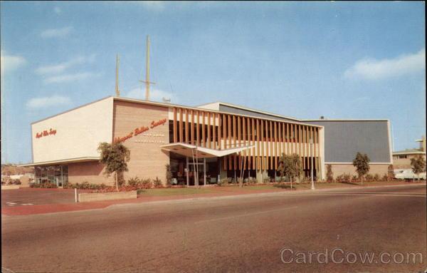 Architectures de banques et bureaux vintages - 1950's & 1960's Office & Bank  Card0011