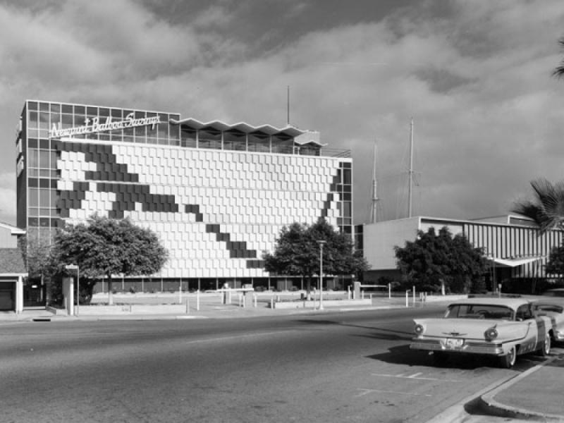 Architectures de banques et bureaux vintages - 1950's & 1960's Office & Bank  E31ace10