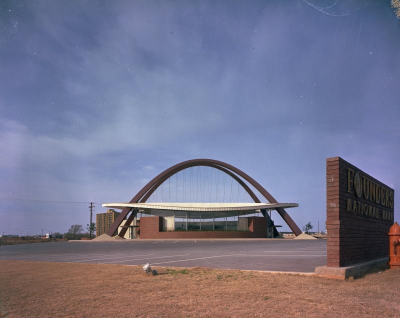 Architectures de banques et bureaux vintages - 1950's & 1960's Office & Bank  Founde10
