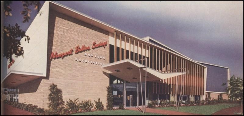 Architectures de banques et bureaux vintages - 1950's & 1960's Office & Bank  Newpor10