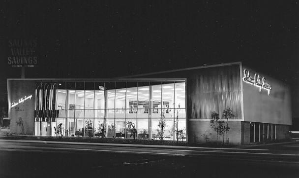 Architectures de banques et bureaux vintages - 1950's & 1960's Office & Bank  Salina10