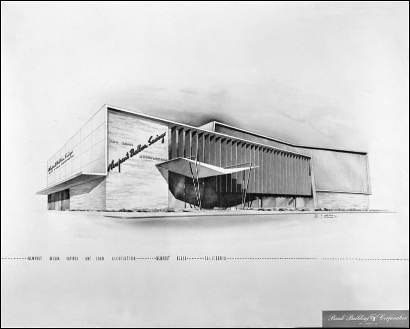 Architectures de banques et bureaux vintages - 1950's & 1960's Office & Bank  Sarmie10