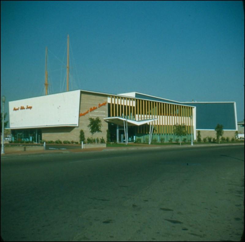 Architectures de banques et bureaux vintages - 1950's & 1960's Office & Bank  Sc000110
