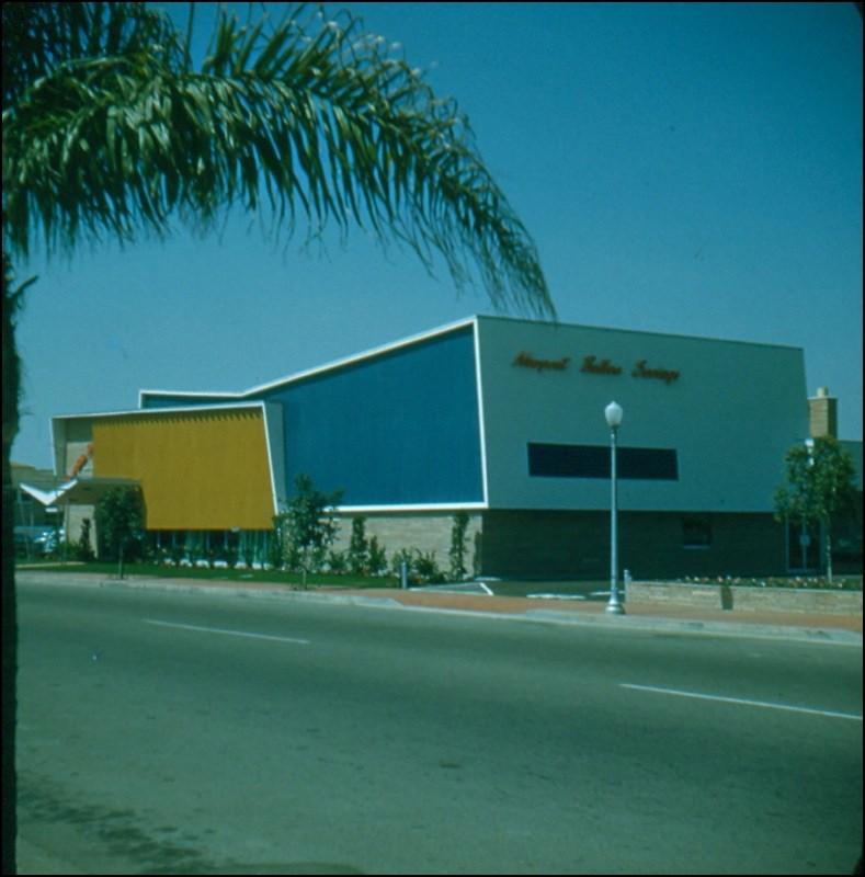 Architectures de banques et bureaux vintages - 1950's & 1960's Office & Bank  Sc000111