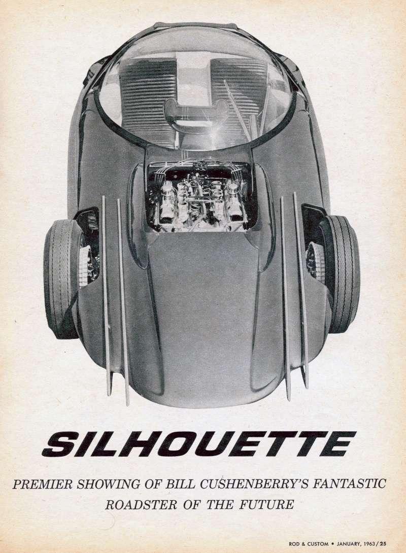 SILHOUETTE - Bill Cushenbery Sil110