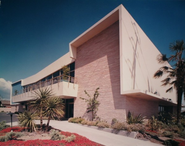 Architectures de banques et bureaux vintages - 1950's & 1960's Office & Bank  Svsl-b10